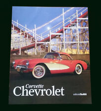 CHEVROLET CORVETTE - Special Coleccion Autos Clasicos # 9 - Classic Cars Book