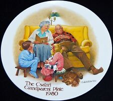 The Bedtime Story by Joseph Csatari Collector Plate