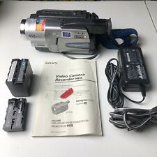 Sony Handycam CCD-TRV58 Hi8 Analog Camcorder - Record Transfer Video TESTED