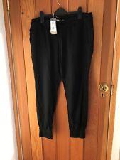 Paige Boho Haren Trousers Black Size 29 Lyocell Lightweight Bnwt