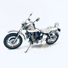 Sterling Silver Harley Davidson Shovelhead Motorcycle 1970s Nicholas Cage 13 ozt