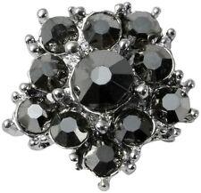 Modeschmuck-Ringe mit Strass-Perlen und Herz-Schliffform