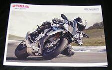 Yamaha Supersport Brochure 2015  -  YZF-R1  YZF-R1M  YZF-R6  YZF-R3  YZF-R125