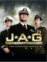JAG COMPLETE SERIES Sealed New 55 DVD Set Seasons 1 2 3 4 5 6 7 8 9 10 Free Ship