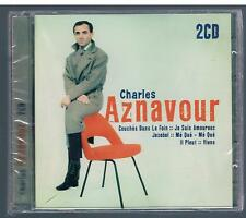 CHARLES AZNAVOUR OMONIMO - 2 CD NUOVO F.C. SIGILLATO!!!