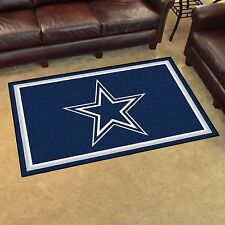 Dallas Cowboys 4' X 6' Decorative Ultra Plush Carpet Area Rug