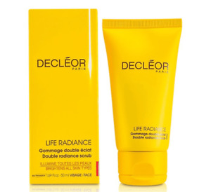 Decleor Life Radiance Double Radiance Scrub - 1.69 oz / 50 ml - New In Box