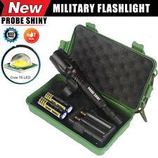 G700 X800 8000 LUMEN Torche Zoomable XML T6 LED Militaire Tactique Lampe Torche