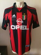 SIZE XL AC MILAN ITALY 1999/2000 HOME FOOTBALL SHIRT JERSEY MAGLIA ADIDAS