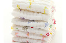 Baby Cotton Gauze Towel Towel Wash Cloth Handkerchiefs Feeding Saliva ToweRcus