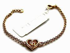 Christian Dior Symbol Bracelet Gold Plated CD Monogram 6 gr
