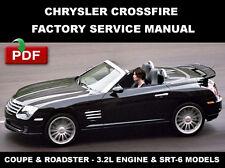 CHRYSLER 2004 - 2008 CROSSFIRE FACTORY SERVICE REPAIR MANUAL + WIRING DIAGRAM