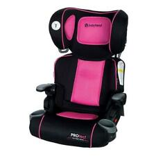 High Back Toddler Booster Car Seat Baby Safety Travel Chair Lumbar Support Pink