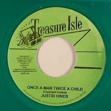 JUSTIN HINDS & THE DOMINOES - ONCE A MAN TWICE A CHILD (TREASURE ISLE) 1966
