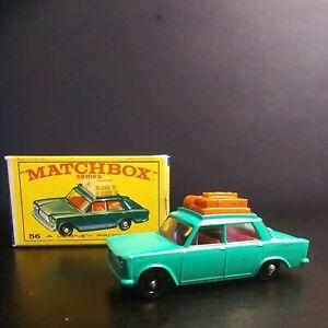 Matchbox Lesney #56 Fiat 1500. In Original Box VNM