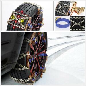 Car Snow Mud Anti-skid Tire Chains Steel Winter Universal Safety Accessories