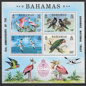 BAHAMAS , 1974 ,15th ANNIV. NATIONAL TRUST , SOUVENIR SHEET , PERF , MNH , CV$12