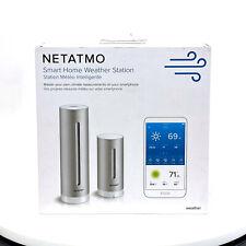Netatmo Weather Station Indoor Outdoor with Wireless Outdoor Sensor