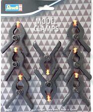 Revell 39070 Model Clamps, Modellbau-Klammern, Spannzwingen, 8 Stück, Neu