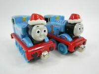 Thomas The Train Diecast Holiday Thomas Lot of 2 - Free Shipping