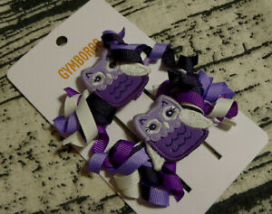 Gymboree Whooo's Cute Owl Hair Clips Size 3 4 5 6 NWT