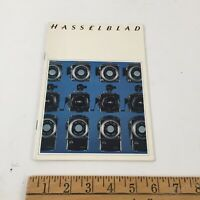 Vintage HASSELBLAD Camera Lenses and Accessories Catalog Victor Hasselblad