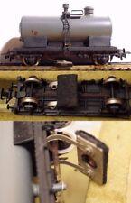 Pocher grauer Schienenreinigungswagen