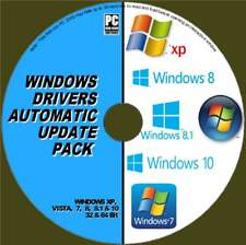 ULTIMATE AUTOMATIC WINDOWS DRIVERS UPDATES PC-DVD FOR ALL WIINDOWS 32 & 64  NEW