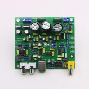 Hifi CS8416+CS4398 DAC Board / Kit Support USB input + coaxial DAC Board