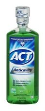 New Act Anticavity Fluoride Mouthwash Alcohol Free Mint - 18 Ounce (Pack of 3)
