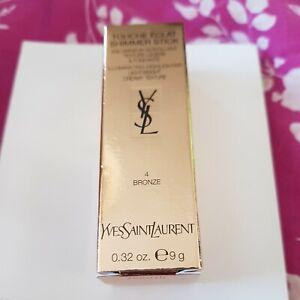 Yves Saint Laurent Touche Éclat Shimmer Stick 9g Bronze. New in original box.
