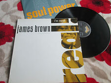 James Brown – I'm Real   Scotti Bros. Records – 834 755-1 Vinyl LP Album