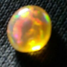 SUPREME AAA MEXICAN WATER OPAL, BRIGHT MULTI COLORED NATURAL CABOCHON CUT RARE