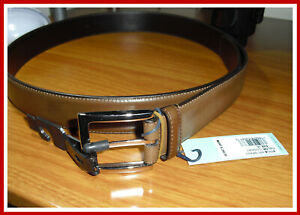 MSRP $248.00 ! Peter Millar Made In Italy Size 36 Men's Leather Cognac Belt