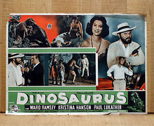 DINOSAURUS fotobusta poster WARD RAMSEY HANSON LUKATHER YEARWORTH CF19