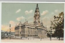Hampshire; The Town Hall, Portsmouth PPC, 1907, To Miss Coulsons, Metheringham