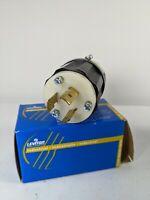 Leviton 2321 20A 250V Locking Plug 2 Pole 3 Wire L6-20P