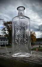 Antique 1890s Ben Bridgeford Rx Druggists Medicine Bottle Pueblo, CO Rare DUG