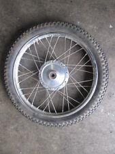 """1969 Yamaha AT1 CT1 Front Wheel Rim 18"""" and Yokohama Tire"""