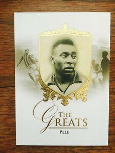 2016 Futera Unique Greats Soccer Card - Brazil PELE Mint