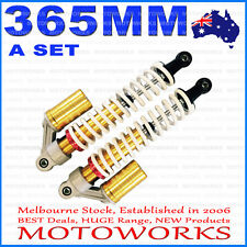 2 x HD 365mm Front Shock Absorber Shocker Suspension PIT QUAD DIRT BIKE ATV BUGG
