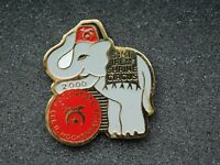 VINTAGE METAL PIN 51ST IREM SHRINE CIRCUS ELEPHANT LEE R HOCKENBERRY