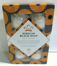 Nubian Heritage African Black Soap Bubble Bath Bomb, 6 Count