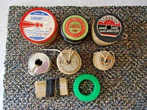 """Vintage Mixed Lot Of Various Types,Brands,etc.Of Fishing Line """" GREAT LOT """""""