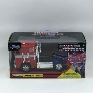 Diecast 1/32 Autobot Optimus Prime Transformers Jada