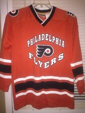 Winning Goal Philadelphia Flyers NHL Hockey Kids Sz Youth L 16-18 Jersey Shirt