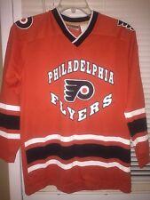 Winning Goal Philadelphia Flyers NHL Hockey Kids Sz Youth L 16-18 Jersey Shirt