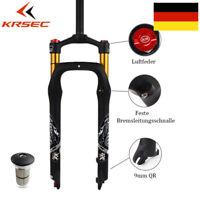 KRSEC 26 Zoll Fett Luft Gabel Zugstufe Einstellen Fahrrad Federgabel Gabel QR