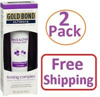 Gold Bond Ultimate Firming Neck - Chest Cream, Fragrance Free 2 oz (TWO PACK)