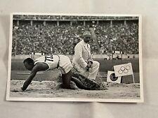 1936 Olympics Sammelwork Nr14 Band II Bildr #57 Jesse Owens Long Jump